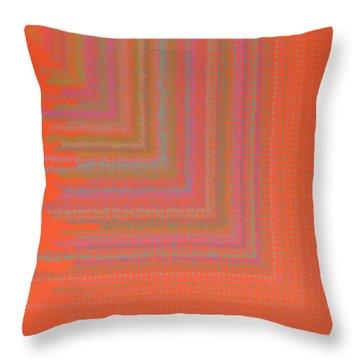 Throw Pillow featuring the digital art Pattern 192 by Marko Sabotin
