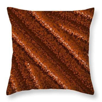 Throw Pillow featuring the digital art Pattern 196 by Marko Sabotin