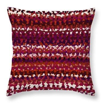 Throw Pillow featuring the digital art Pattern 197 by Marko Sabotin