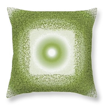 Throw Pillow featuring the digital art Pattern 198 by Marko Sabotin