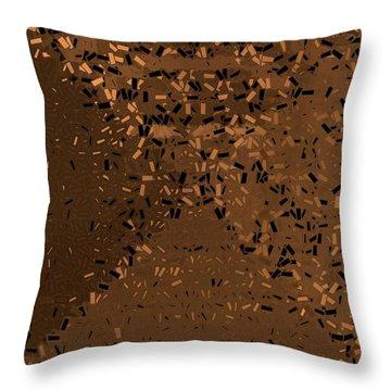 Throw Pillow featuring the digital art Pattern 204 by Marko Sabotin