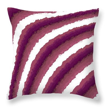 Throw Pillow featuring the digital art Pattern 205 by Marko Sabotin