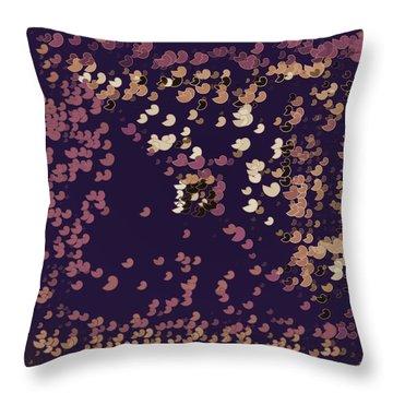 Throw Pillow featuring the digital art Pattern 206 by Marko Sabotin