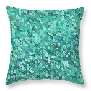 Throw Pillow featuring the digital art Pattern 211 by Marko Sabotin