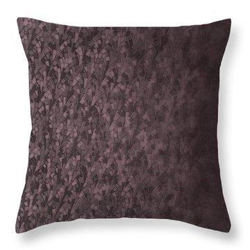Throw Pillow featuring the digital art Pattern 220 by Marko Sabotin