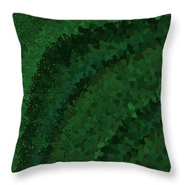 Throw Pillow featuring the digital art Pattern 221 by Marko Sabotin