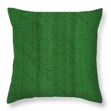 Throw Pillow featuring the digital art Pattern 224 by Marko Sabotin
