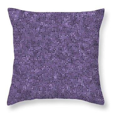 Throw Pillow featuring the digital art Pattern 225 by Marko Sabotin