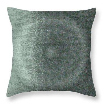 Throw Pillow featuring the digital art Pattern 228 by Marko Sabotin