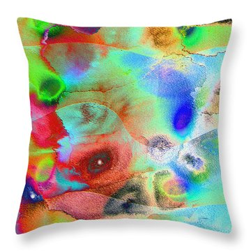 Pattern 242 _ Imagination Throw Pillow