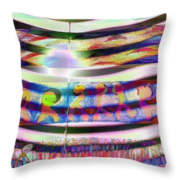 Pattern 255 Joy Throw Pillow