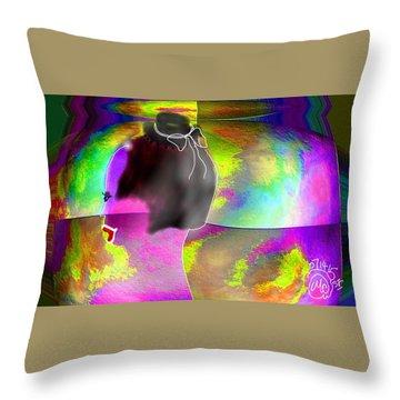 Pattern 266 _ Shine Throw Pillow