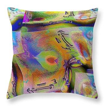 Pattern 268 _ Live Throw Pillow