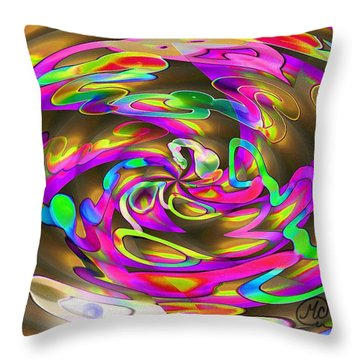 Pattern 269 _ Wired Throw Pillow