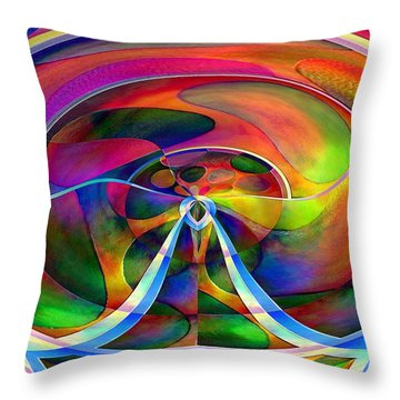 Pattern 271 _ Layers Throw Pillow