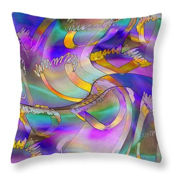 Pattern 285 _ United Throw Pillow
