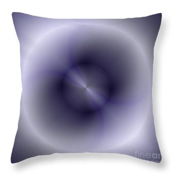 Throw Pillow featuring the digital art Pattern 43 by John Krakora