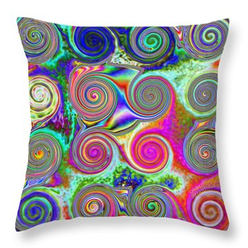 Pattern 46 Throw Pillow