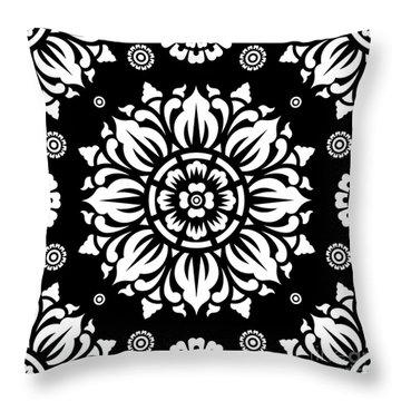Pattern Art 01-1 Throw Pillow