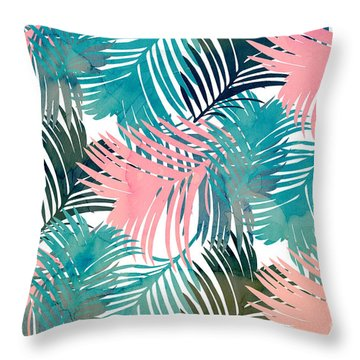 Pattern Jungle Throw Pillow