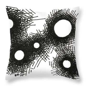 Patterns 1 2015 - Aceo Throw Pillow