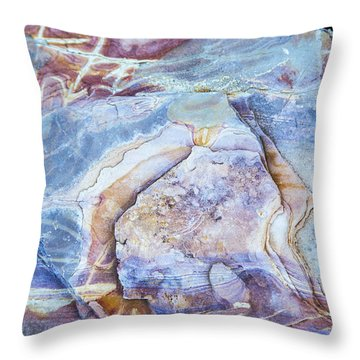 Patterns In Rock 2 Throw Pillow