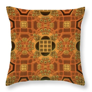 Patterns Within Patterns Throw Pillow by Lyle Hatch