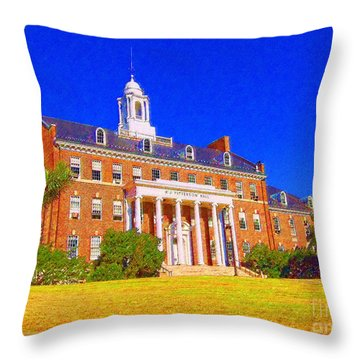 Patterson Hall  Throw Pillow