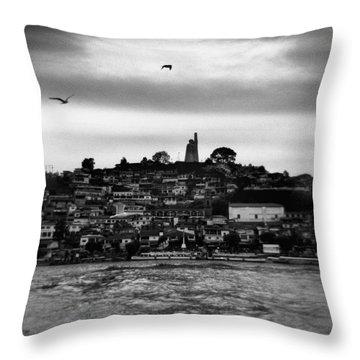 Patzcuaro Throw Pillow by Ana Mireles