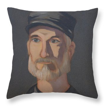 Paul Bright Portrait Throw Pillow