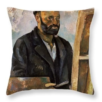 Paul Cezanne (1839-1906) Throw Pillow by Granger