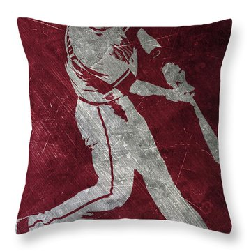 Paul Goldschmidt Arizona Diamondbacks Art Throw Pillow