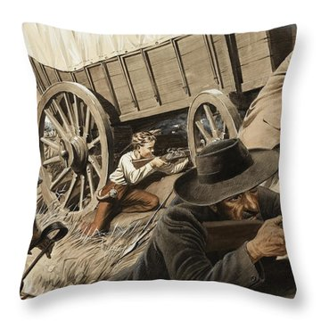 Paul Kruger Throw Pillow by Unknown
