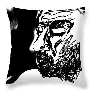 Paul Ramnora Self-portrait Throw Pillow