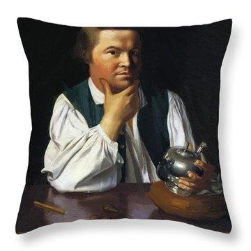Paul Revere 1770 Throw Pillow