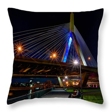 Paul Revere Park 273 Throw Pillow