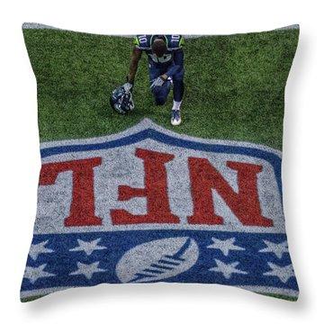 Paul Richarson Nfl Throw Pillow