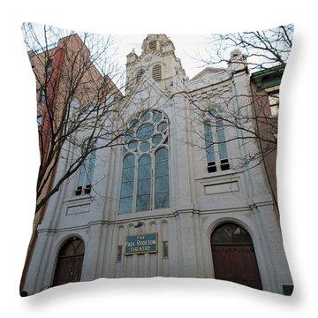 Paul Roberson Theatre  Throw Pillow