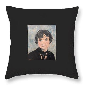 Pauline Osborn Gaffin Throw Pillow