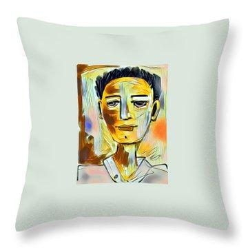Pauls Portrait Throw Pillow
