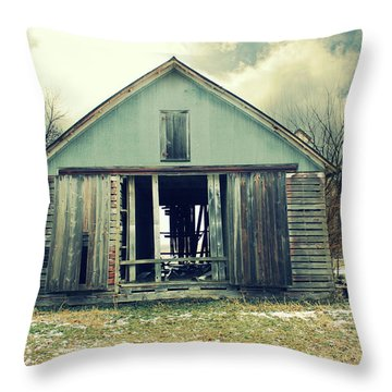 Throw Pillow featuring the photograph Paulsons Crib by Julie Hamilton
