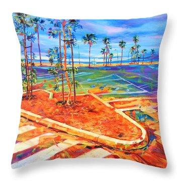 Paved Paradise Throw Pillow