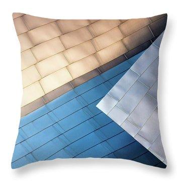 Pavillion Abstract Throw Pillow