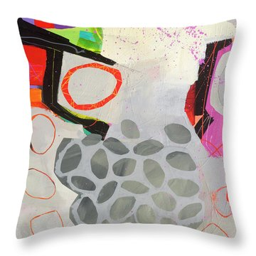 Paving The Way Throw Pillow by Jane Davies