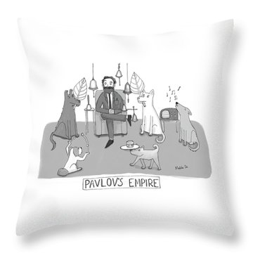 Pavlovs Empire Throw Pillow