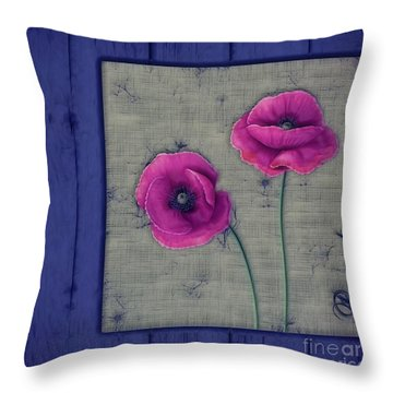 Pavot - A01c11 Throw Pillow
