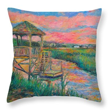Pawleys Island Atmosphere Stage Two Throw Pillow