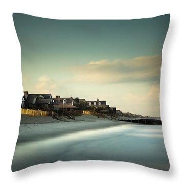 Pawleys Island, One Hour Till Sunset Throw Pillow