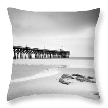 Pawleys Island Pier I Throw Pillow