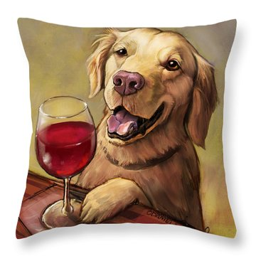 Golden Retriever Throw Pillows